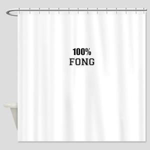 100% FONG Shower Curtain