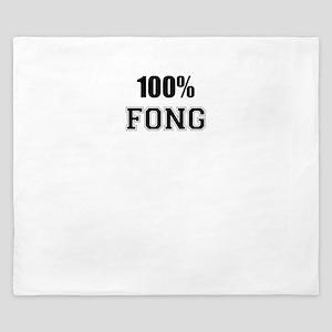 100% FONG King Duvet