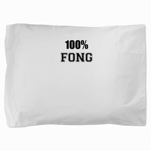 100% FONG Pillow Sham