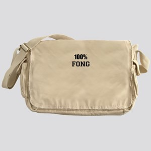100% FONG Messenger Bag