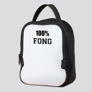 100% FONG Neoprene Lunch Bag