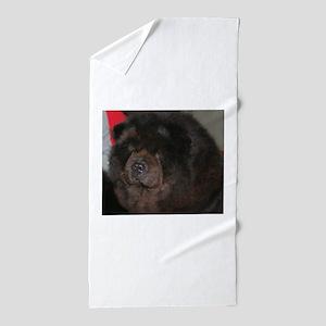 chow chow Beach Towel