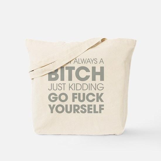 Funny Vulgar Tote Bag