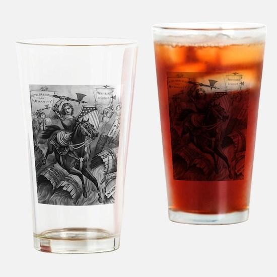 temperance Drinking Glass