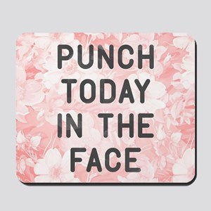 Punch Today Mousepad
