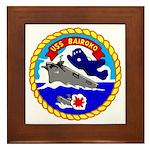 USS Bairoko (CVE 115) Framed Tile