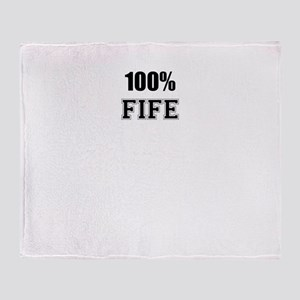 100% FIFE Throw Blanket