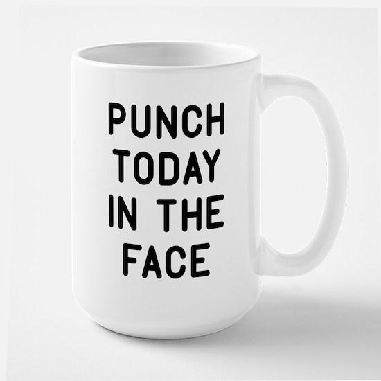 Punch Today Large Mug