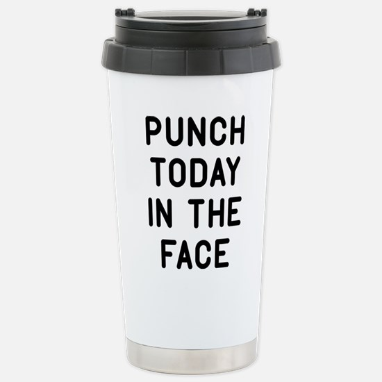 Punch Today Stainless Steel Travel Mug