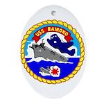 USS Bairoko (CVE 115) Oval Ornament
