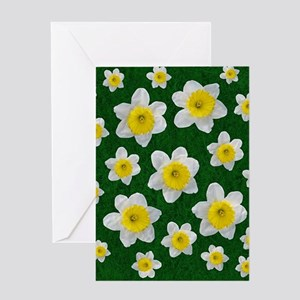 Spring Daffodils Greeting Cards