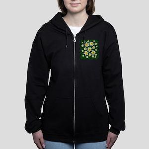 Spring Daffodils Women's Zip Hoodie