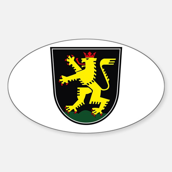 Heidelberg Coat of Arms Oval Decal