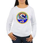 USS Bairoko (CVE 115) Women's Long Sleeve T-Shirt