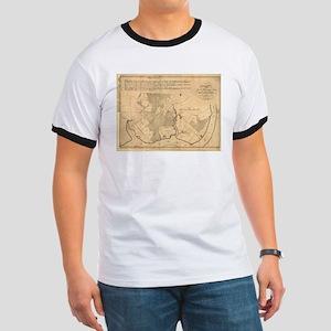 Vintage Map of The Mount Vernon Plantation T-Shirt