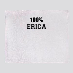 100% ERICA Throw Blanket