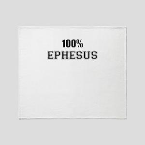 100% EPHESUS Throw Blanket