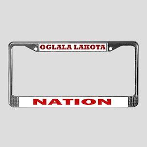 Oglala Lakota Nation License Plate Frame