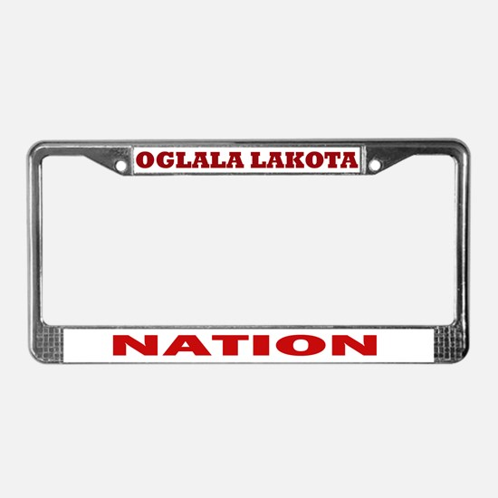 Oglala Lakota Nation License Plate Frame