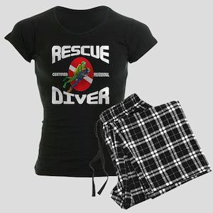 scuba57colored Women's Dark Pajamas