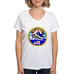 USS Bairoko (CVE 115) Women's V-Neck T-Shirt