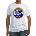 USS Bairoko (CVE 115) Fitted T-Shirt