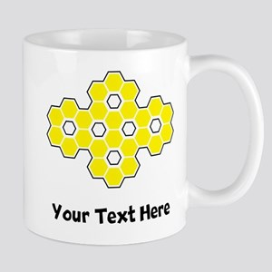Bee Honeycomb (Custom) Mugs
