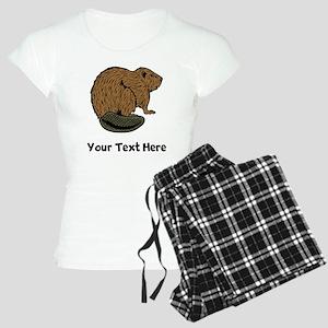 Brown Beaver (Custom) Pajamas