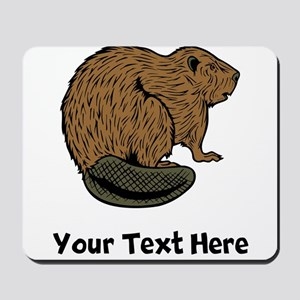 Brown Beaver (Custom) Mousepad