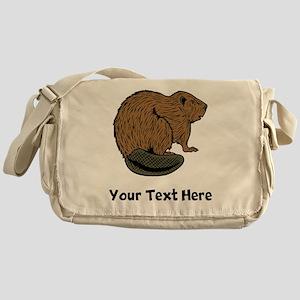 Brown Beaver (Custom) Messenger Bag