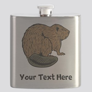 Brown Beaver (Custom) Flask