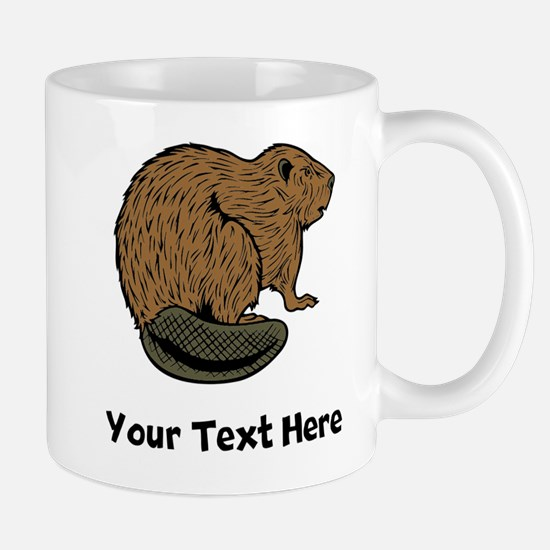 Brown Beaver (Custom) Mugs