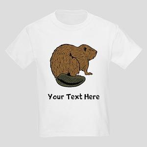 Brown Beaver (Custom) T-Shirt