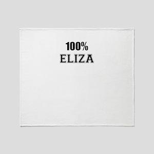 100% ELIZA Throw Blanket