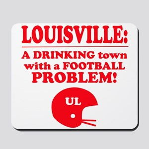 UL a drinking town Mousepad