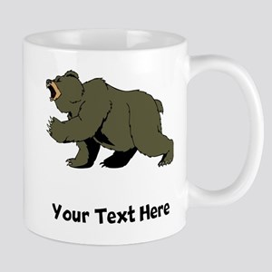 Grizzly Bear (Custom) Mugs