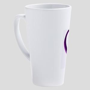 His and Hers 17 oz Latte Mug