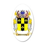 Schimmang 35x21 Oval Wall Decal