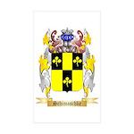 Schimaschke Sticker (Rectangle 50 pk)