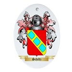 Schiltz Oval Ornament