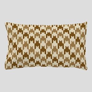 Catstooth Pattern in Neutrals Pillow Case