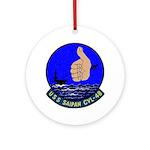 USS Saipan (CVL 48) Ornament (Round)