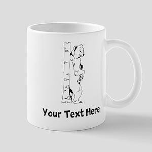 Bear Scratching Back (Custom) Mugs