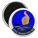 USS Saipan (CVL 48) Magnet