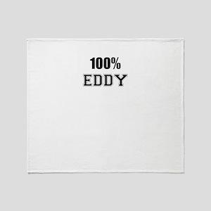 100% EDDY Throw Blanket