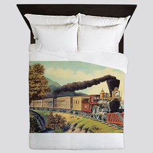 american express train Queen Duvet