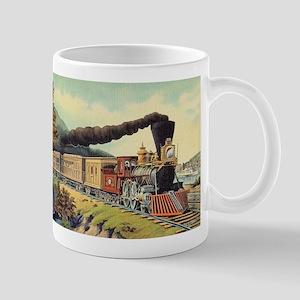 american express train Mugs