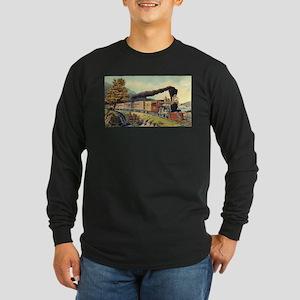 american express train Long Sleeve T-Shirt