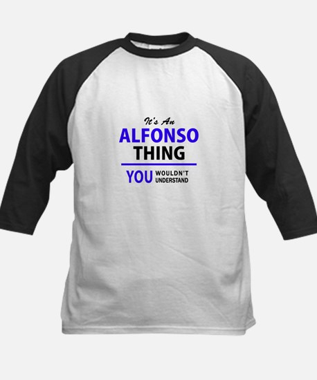 ALFONSO thing, you wouldn't unders Baseball Jersey