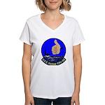USS Saipan (CVL 48) Women's V-Neck T-Shirt